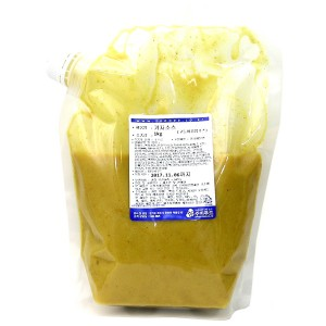 주비푸드 겨자소스(고등어김밥소스) 1kg /냉장